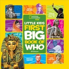 'National Geographic Little Kids First Big Book of Who' by National Geographic Kids
