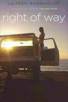 'Right of Way' by Lauren Barnholdt