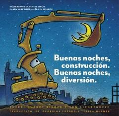 Book Cover: 'Goodnight goodnight construction site Spanish'