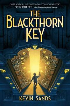 Cover: 'The Blackthorn Key'