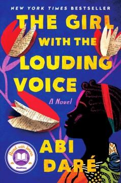 Book Cover: 'The girl with the louding voice'