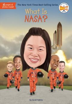 Book Cover: 'What is NASA'