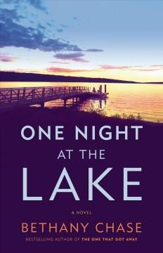 Book Cover: 'One night at the lake'