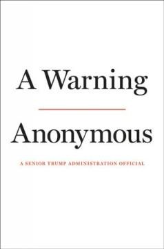 Book Cover: 'A warning'