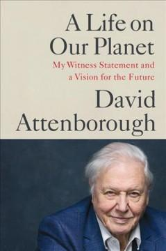 Book Cover: 'A life on our planet'