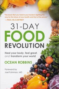 Book Cover: '31-day food revolution'