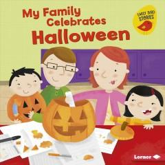 Book Cover: 'My family celebrates Halloween'