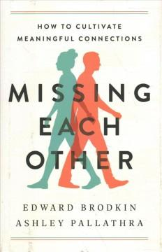 Book Cover: 'Missing each other'
