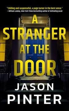 Book Cover: 'A stranger at the door'
