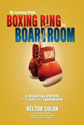 Book Cover: 'My journey from boxing ring to boardroom'