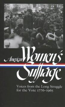 Book Cover: 'American womens suffrage'