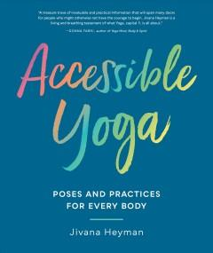 Book Cover: 'Accessible yoga'