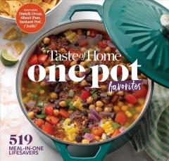 Book Cover: 'One pot favorites'