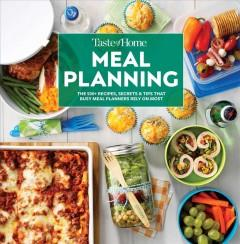 Book Cover: 'Taste of Home meal planning'
