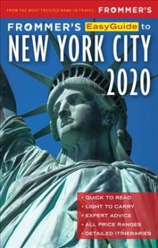 Book Cover: 'Frommers easyguide to New York City 2020'