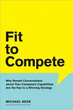 Book Cover: 'Fit to compete'