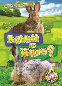 Book Cover: 'Rabbit or hare'
