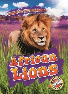 Book Cover: 'African lions'