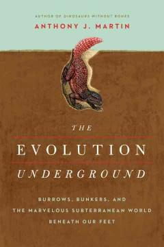 THE EVOLUTION UNDERGROUND : BURROWS BUNKERS AND THE MARVELOUS SUBTERRANEAN WORLD BENEATH OUR FEET