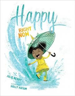 Book Cover: 'Happy right now'