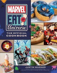 Book Cover: 'Marvel eat the universe'