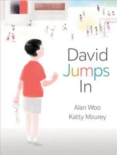 Book Cover: 'David jumps in'