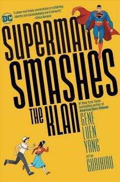 Book Cover: 'Superman smashes the Klan'