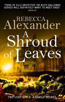 Book Cover: 'A shroud of leaves'