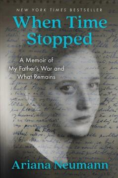 Book Cover: 'When time stopped'