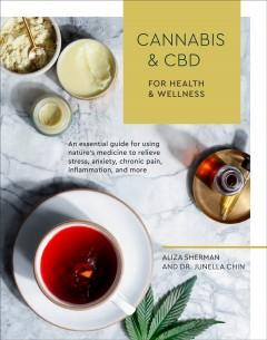 Book Cover: 'Cannabis and CBD for health and wellness'