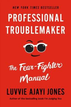 Book Cover: 'Professional troublemaker'