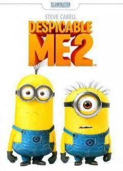 Despicable Me 2 DVD cover