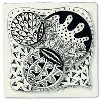 Zentangle art
