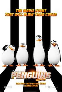 the Penguins of Madagascar DVD cover