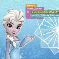 Frozen coding screenshot