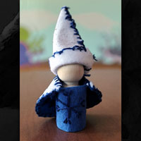 gnome peg doll