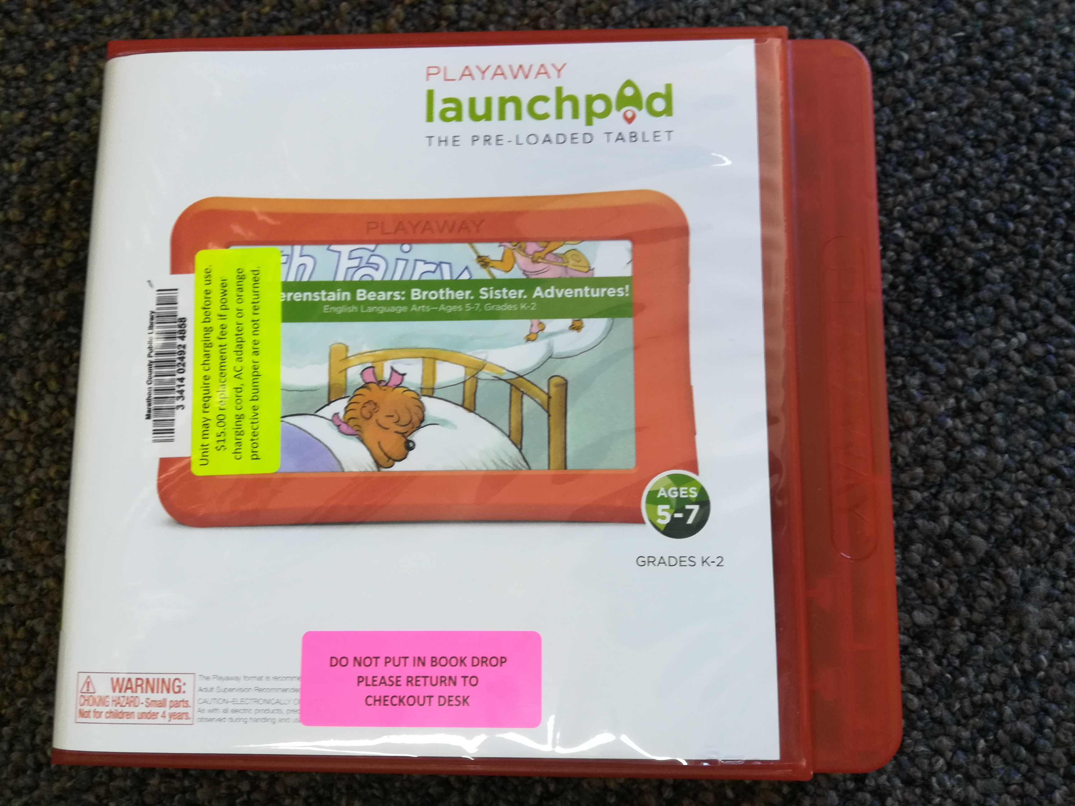 Berenstain Bears Playaway Launchpad